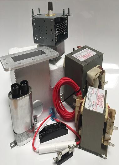 Mikroovn Generator Kits og industrielle komponenter
